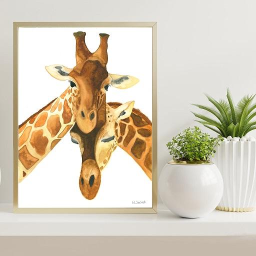 Animal Paintings Print